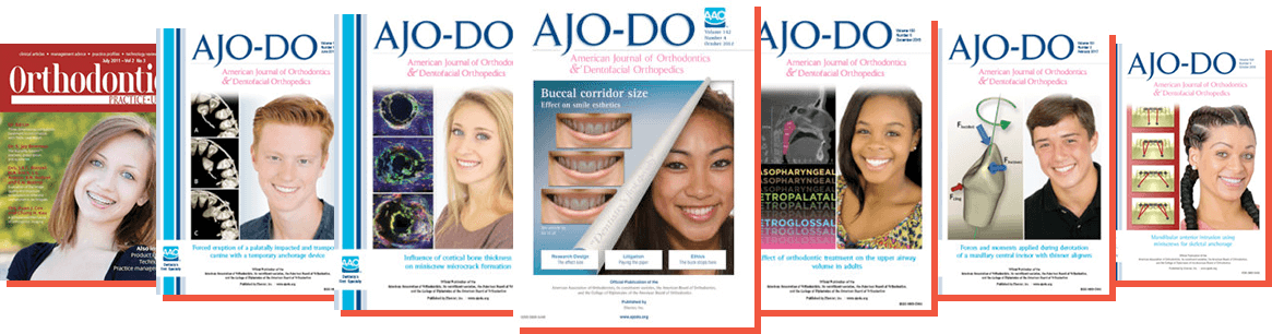 Featured in the American Journal of Orthodontics
